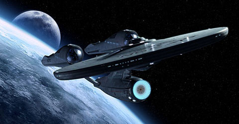 STAR TREK 2009 ENTERPRISE 1920x1200